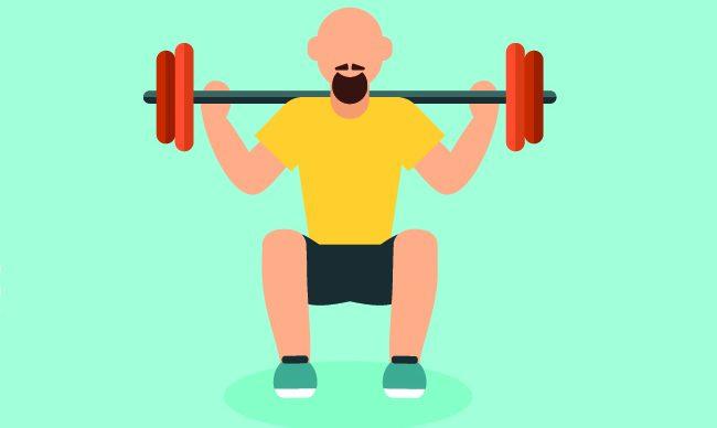 Как накачать широкие плечи